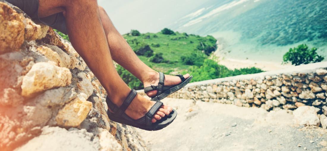 chaussure homme été